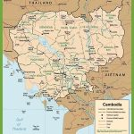 Cambodia Maps | Maps Of Cambodia   Printable Map Of Cambodia