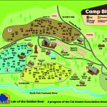 Camp Maps | Caa   California Tent Camping Map