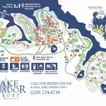 Campground Map – Fishing & Camping In Northern Ca | Lake Amador   California Camping Sites Map