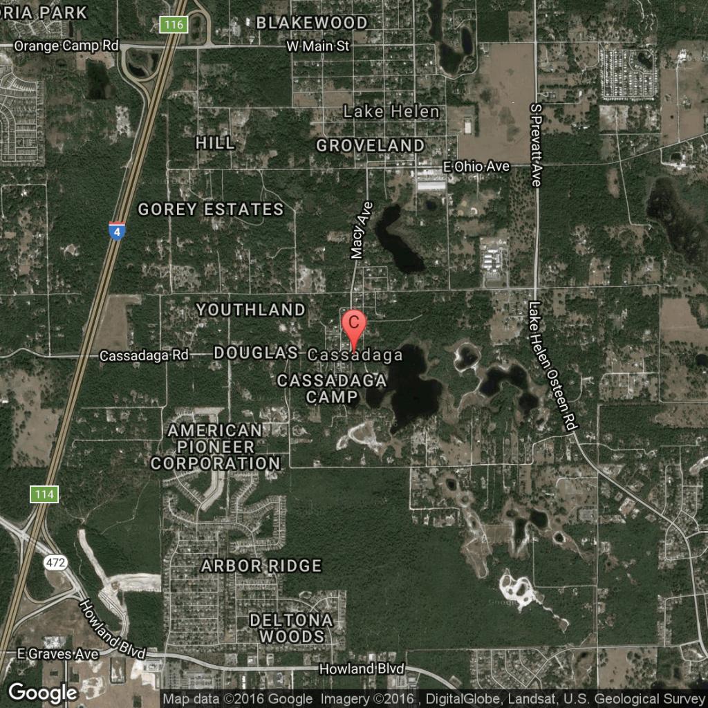 Camping In Cassadaga Or Deltona, Florida   Usa Today - Cassadaga Florida Map