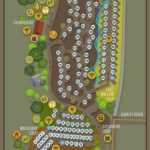 Campsite Map New   Santee Lakes   California Camping Sites Map