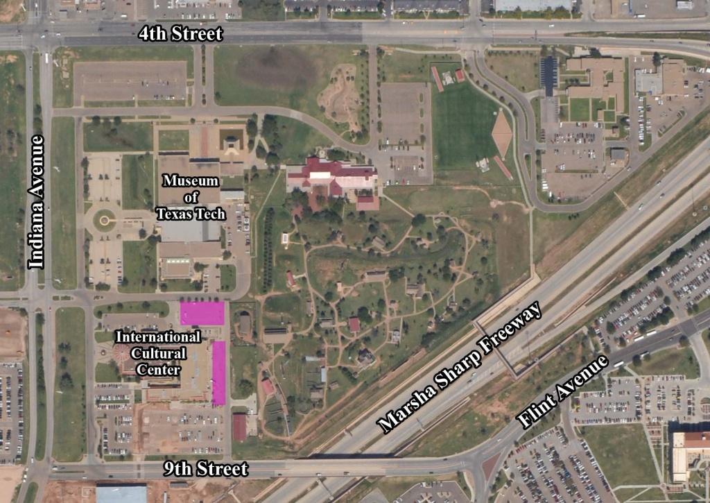 Campus Maps | Transportation & Parking Services | Ttu - Texas Tech Football Parking Map 2017