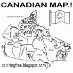 Canada Map Drawing At Paintingvalley | Explore Collection Of   Free Printable Map Of Canada For Kids