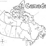 Canada Printable Map | Geography | Learning Maps, Map, Geography Of   Free Printable Map Of Canada Worksheet