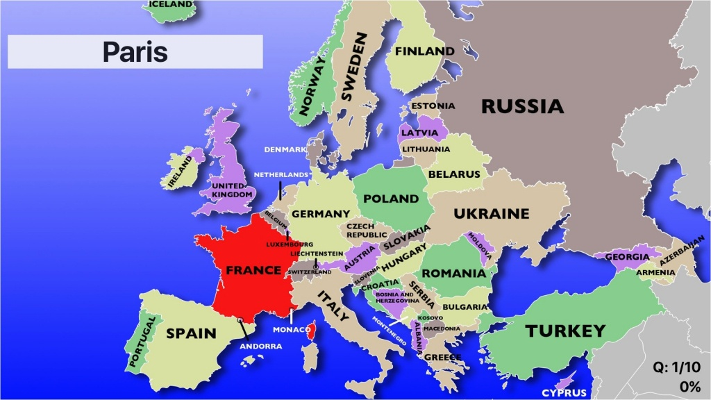 Category Europe Map 29 Eastern Countries Quiz Labeled Blank Western - Blank Europe Map Quiz Printable