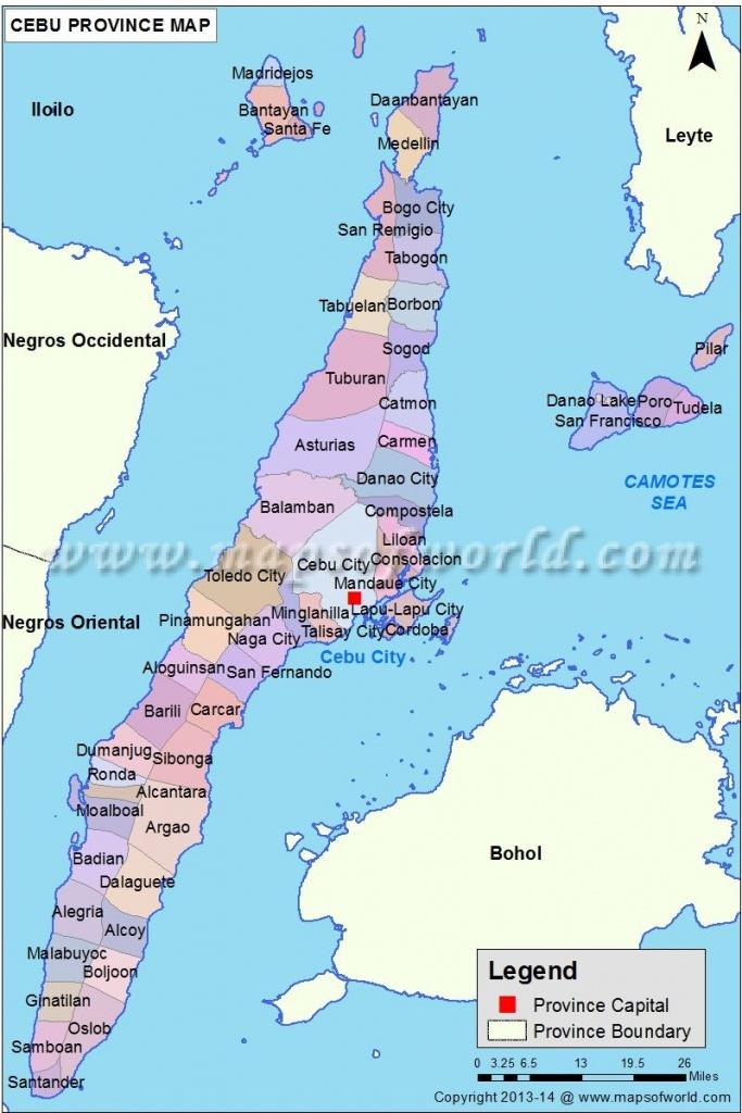 Cebu Map   Everything Philippines   Cebu, Philippines, Visayas - Cebu City Map Printable
