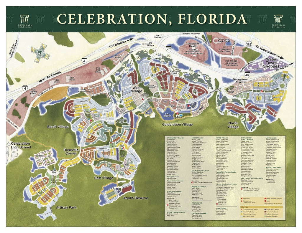 Celebration, Fl Real Estate - Mls Listings Florida Map