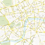 Central London Map   Royalty Free, Editable Vector Map   Maproom   Printable Street Map Of Central London