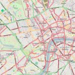 Central London   Wikipedia   Printable Street Map Of Central London