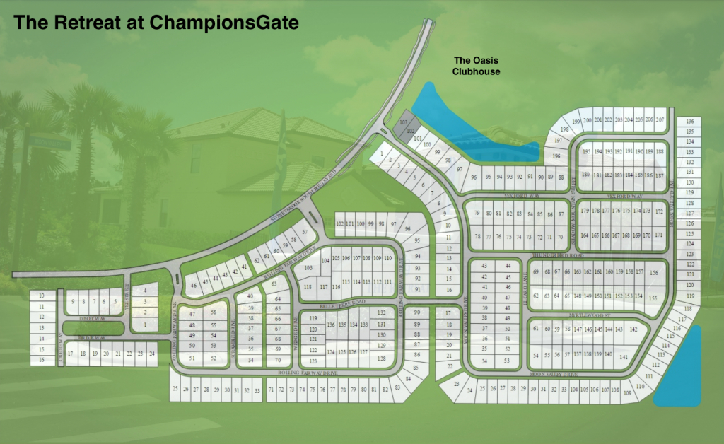 Champions Gate - Florida Golf Comunities | Remax Realtec Group - Champions Gate Florida Map