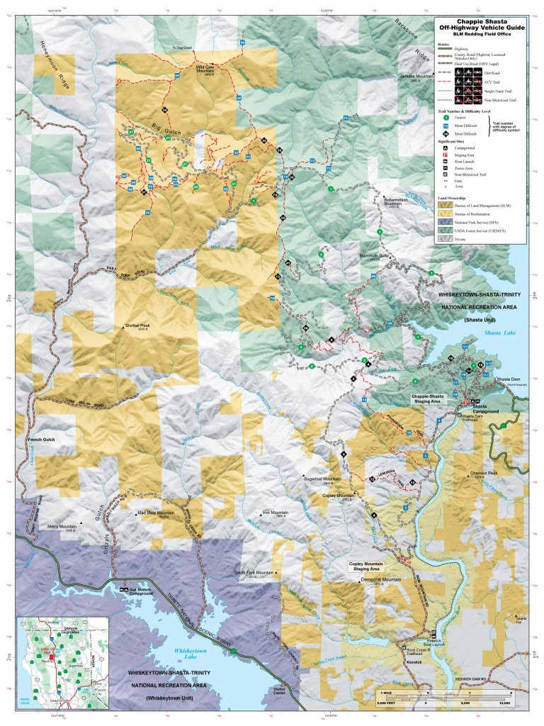 Chappie Blm Map | Off Road | Offroad, Trail Maps, California Map - Blm Ohv Maps California