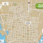 Charleston Tourist Map And Travel Information | Download Free   Printable Map Of Charleston Sc