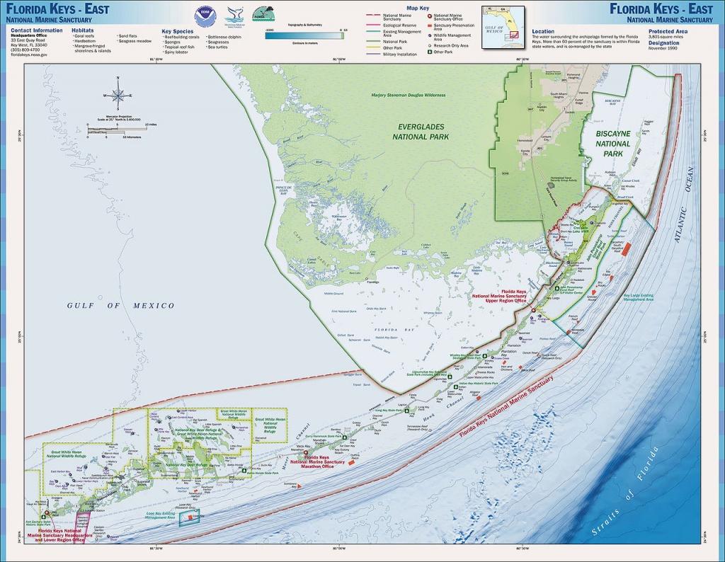 Charts And Maps Florida Keys - Florida Go Fishing - Long Key Florida Map