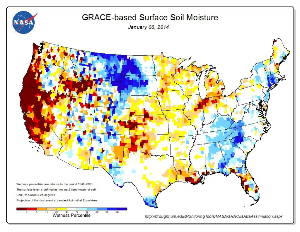 Check Out This Shocking Map Of California's Drought | Grist - California Heat Map