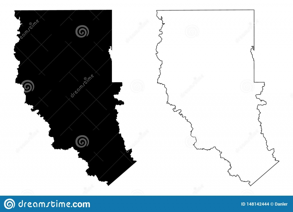 Cherokee County, Texas Counties In Texas, United States Of America - Texas County Map Vector