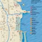 Chicago Downtown Map   Chicago City Map Printable