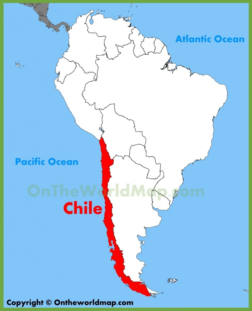 Chile Maps | Maps Of Chile - Printable Map Of Chile