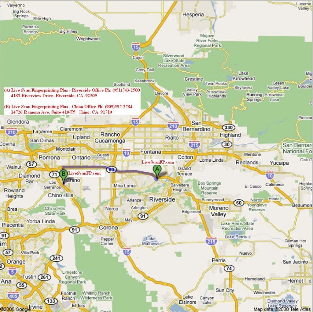 Chino California Map And Travel Information   Download Free Chino - Chino California Map
