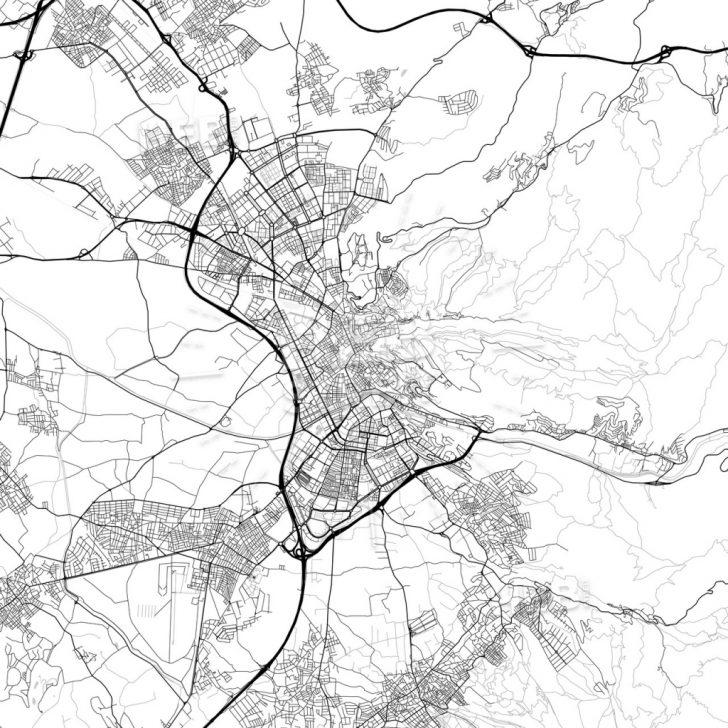 Printable Street Map Of Granada Spain