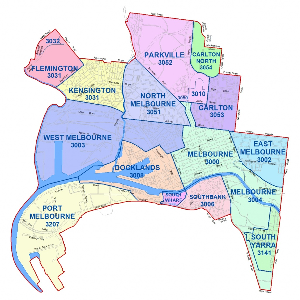 City Maps - City Of Melbourne - Melbourne Cbd Map Printable