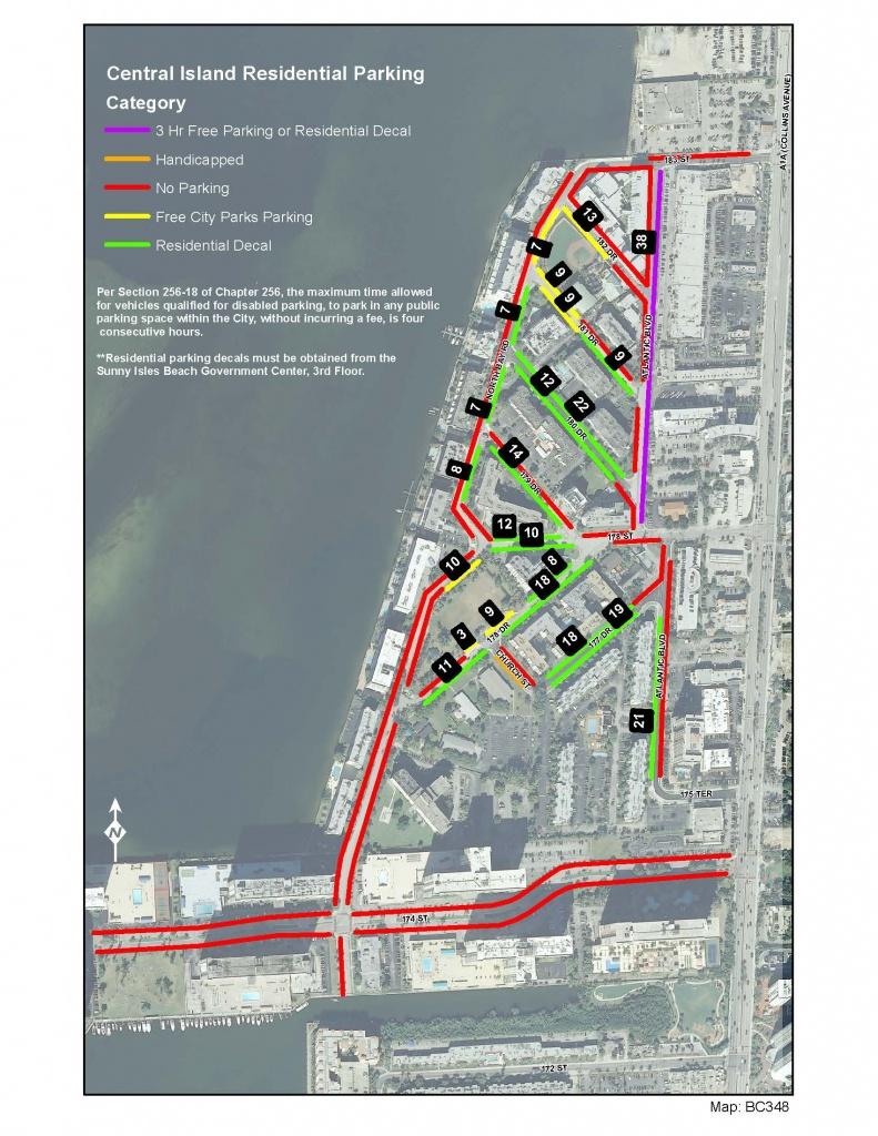 City Maps - City Of Sunny Isles Beach - Sunny Isles Florida Map