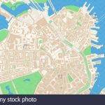 City Of Boston Map Stock Photos & City Of Boston Map Stock Images   Printable Map Of Boston