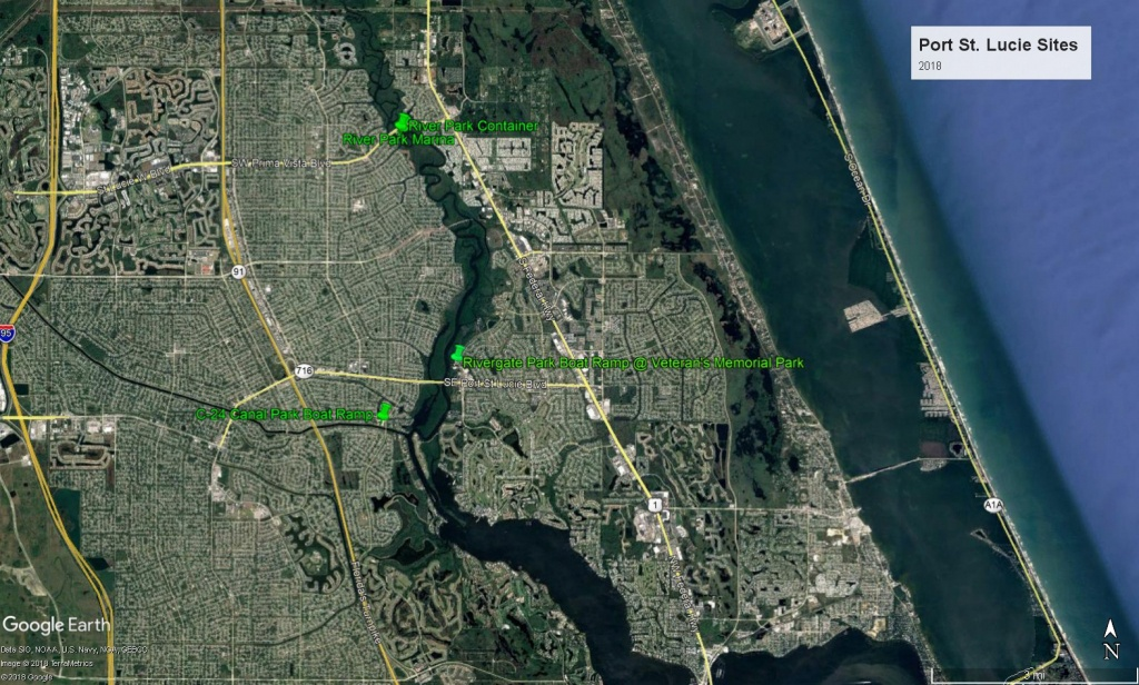 Cleanup Sites - Www.tcwaterwaycleanup - Google Maps Stuart Florida