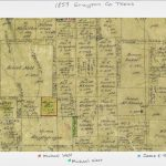 Clmroots: Michael West Land In Grayson County, Texas   Texas Plat Maps