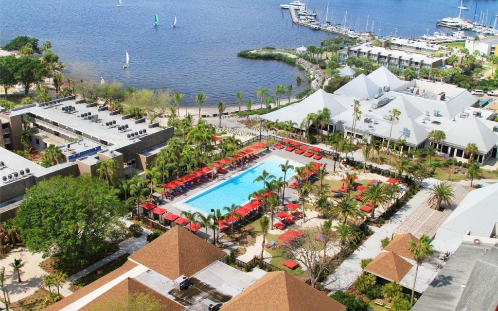Club Med Sandpiper Bay Hotel Review, Florida | Travel - Club Med Florida Map