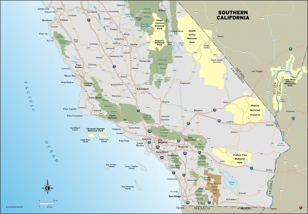 Coast Of California Map Detailed – Map Of Usa District - Detailed Map Of California Coastline