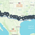 Coast To Coast Road Trip: The Best Of Everything Along I 10   Roadside Attractions Texas Map