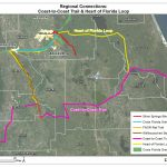 Coast To Coast Trail And Heart Of Florida Loop   2035 Bicycle And   Florida Bike Trails Map