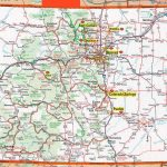 Colorado Map | Frida | Map, Colorado, State Map   Printable Map Of Colorado Springs