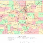 Colorado Printable Map   Printable Road Maps By State