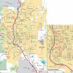 Colorado Springs Road Map   Printable Map Of Colorado Springs