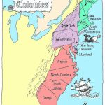 Coloring Pages: 13 Colonies Map Printable Labeled With Cities Blank   13 Colonies Map Printable