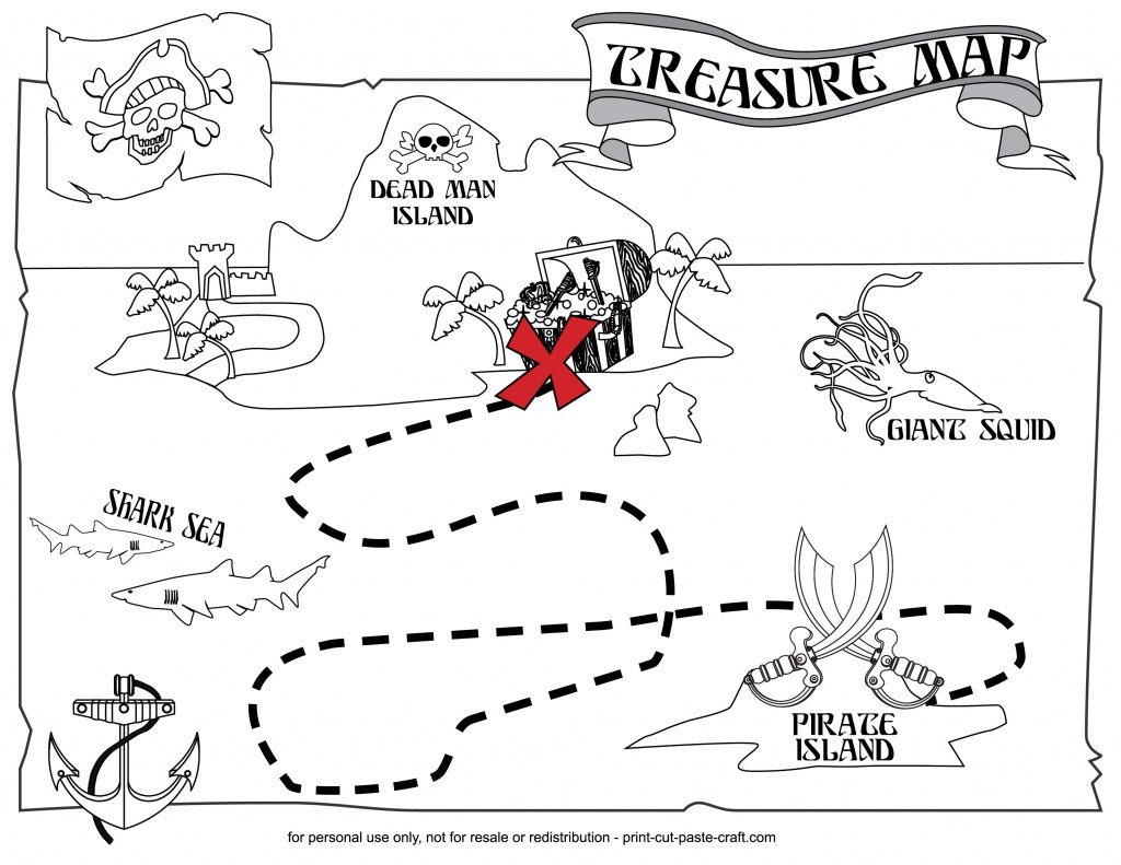 Coloring ~ Pirate Map Coloring Pages Blank Treasure Page Colouring - Free Printable Pirate Maps