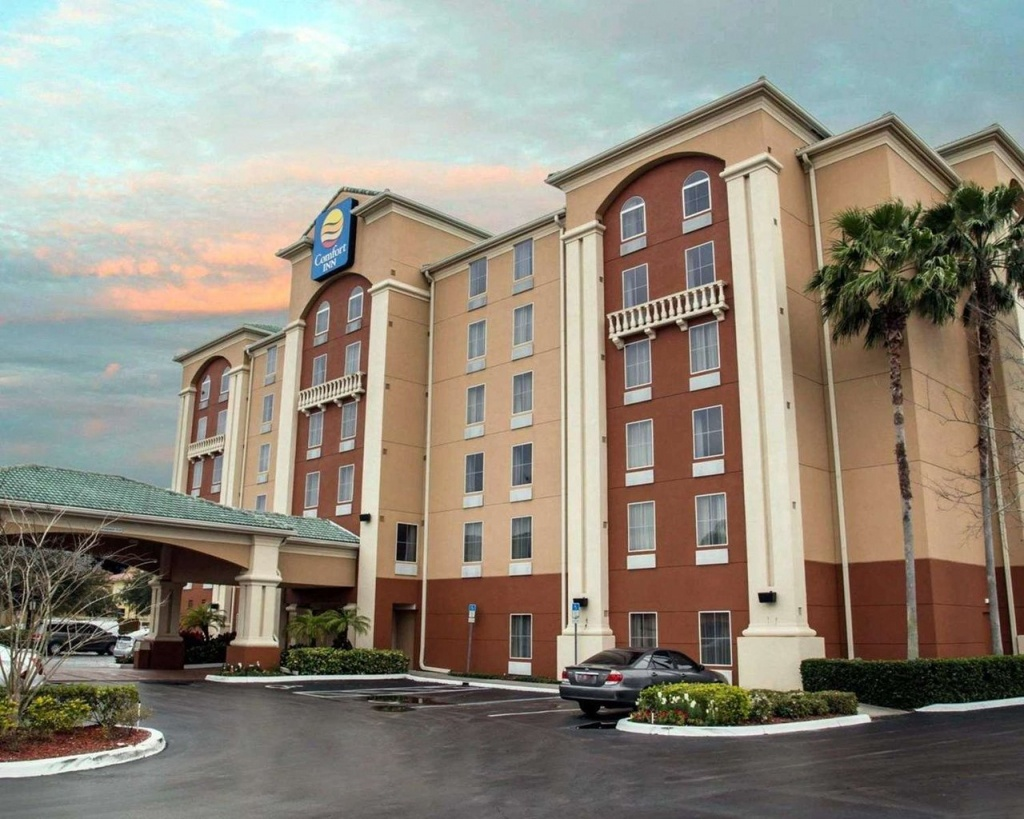 Comfort Inn International $89 ($̶1̶5̶8̶) - Updated 2019 Prices - Country Inn And Suites Florida Map