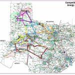 Competitive Renewable Energy Zones (Crez)   Electric Transmission   Electric Transmission Lines Map Texas