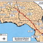 Controversial $3.2 Billion Sabal Trail Natural Gas Pipeline On   Florida Natural Gas Pipeline Map