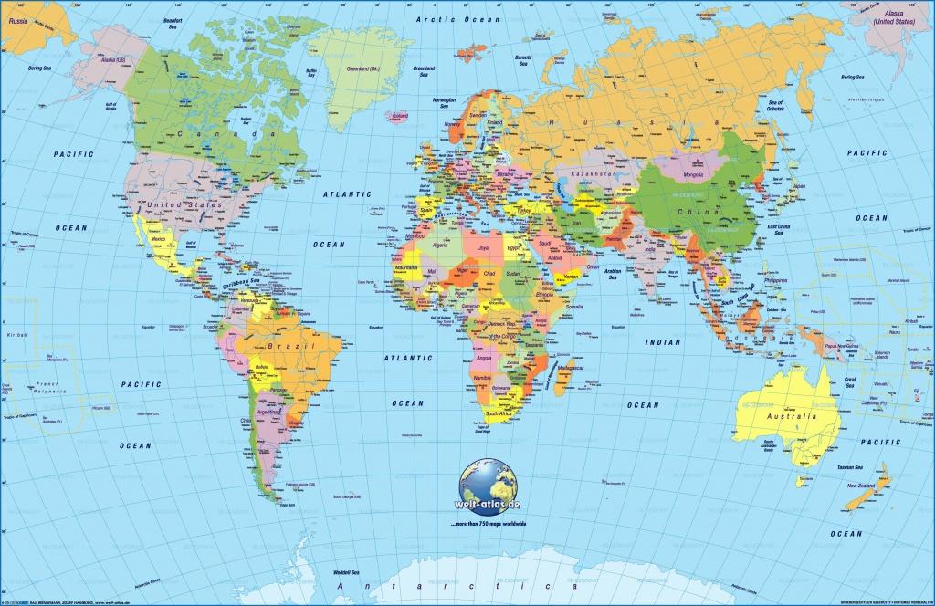 Cool World Map Pdf 2 | Maps | World Map Wallpaper, Detailed World - 8X10 Printable World Map