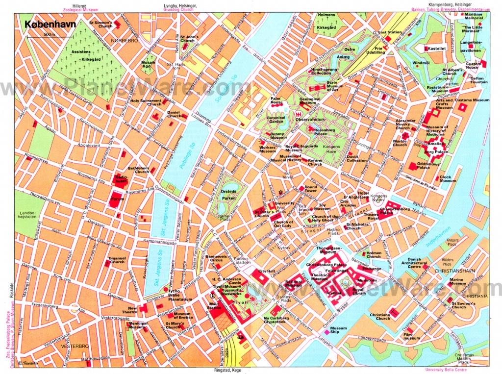 Copenhagen Map - Detailed City And Metro Maps Of Copenhagen For - Printable Map Of Copenhagen