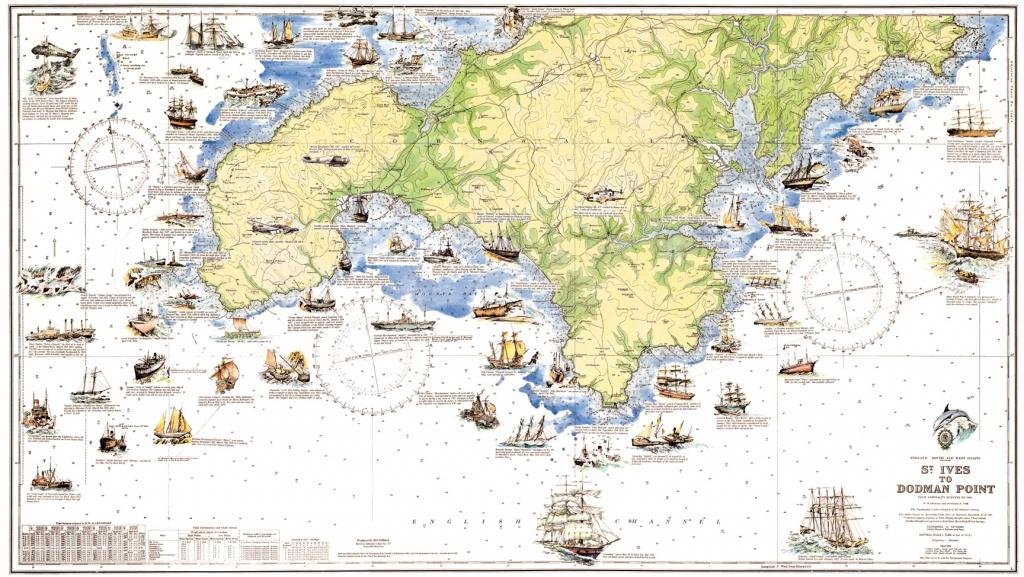 Cornwall Guide - Printable Map Of Cornwall