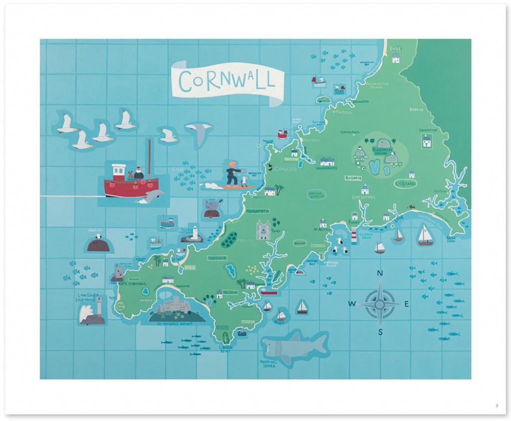 Cornwall Map - Printable Map Of Cornwall