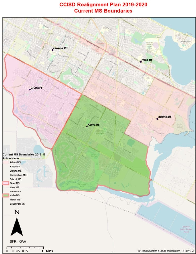 Corpus Christi Independent School District Releases Maps With - Google Maps Corpus Christi Texas