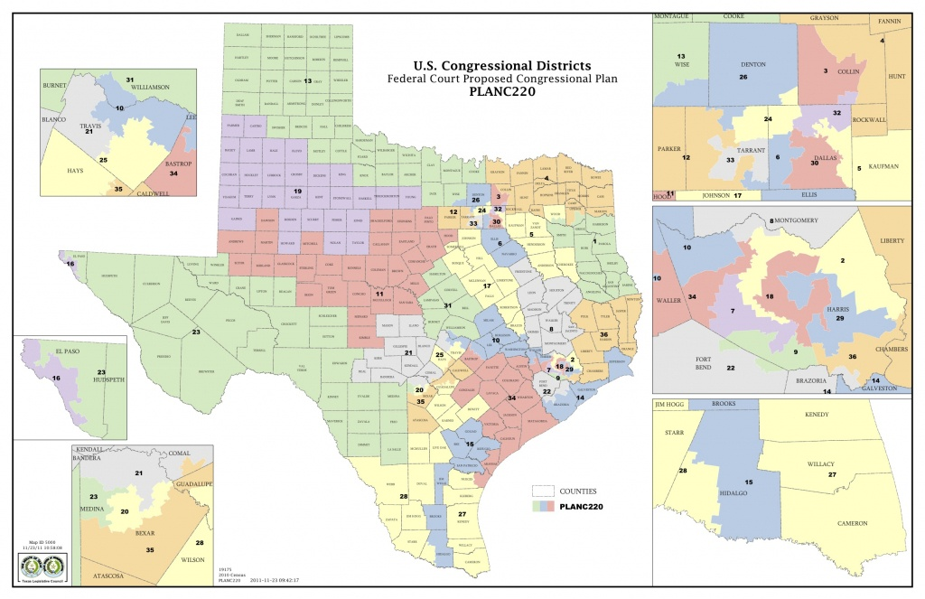 Could A San Antonio Federal Panel Resolve Texas' Redistricting Issue - Texas Us Representative District Map