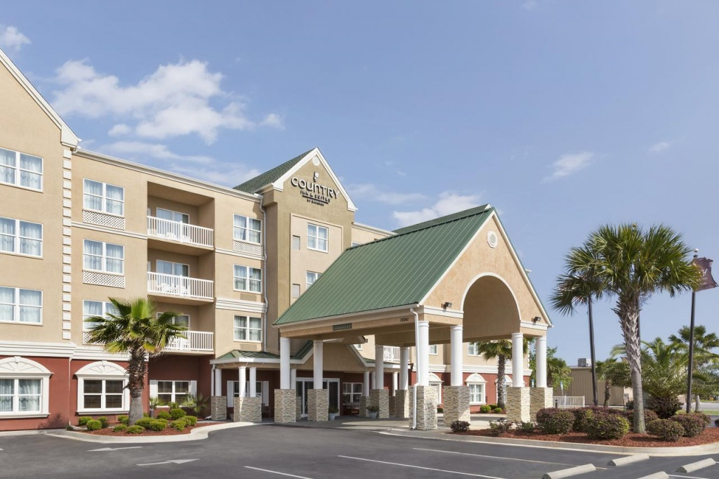 Country Inn & Suites Pcb, Panama City Beach, Fl - Booking - Country Inn And Suites Florida Map