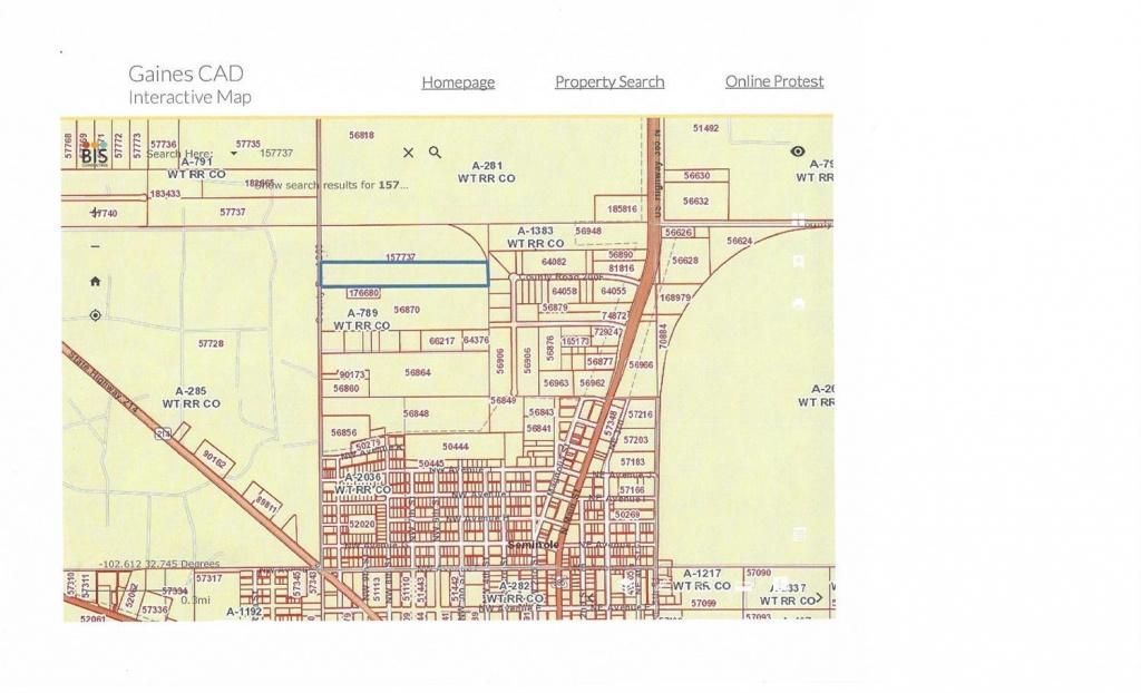 County Road 203 Seminole, Tx. | Mls# 201902386 | Exit Realty Of - Seminole Texas Map