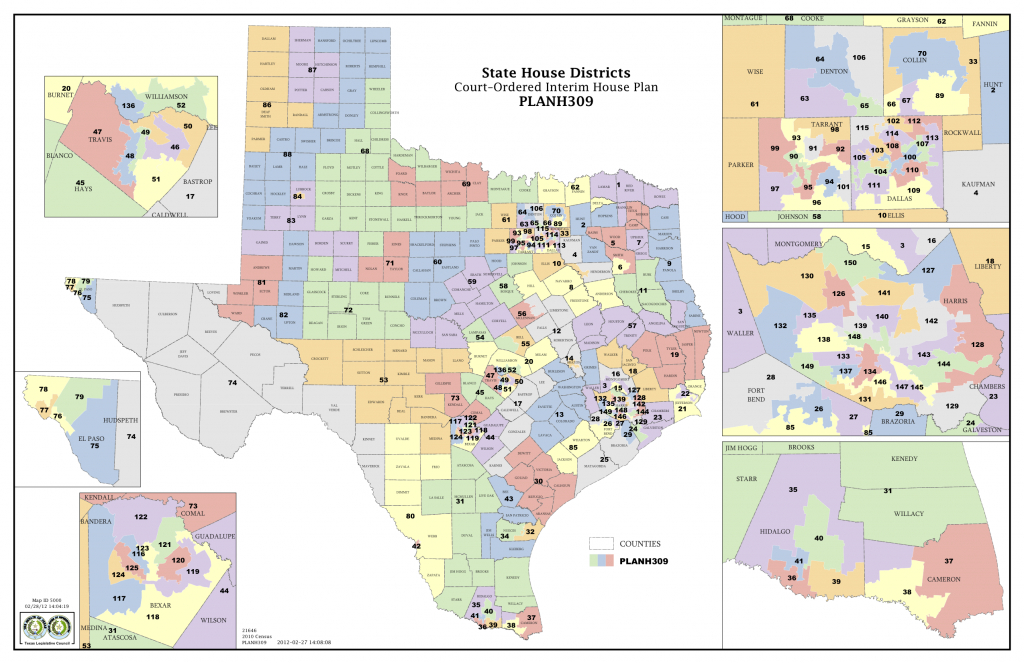 Court Delivers Election Maps For Texas House, Congress | The Texas - Texas Congressional Map