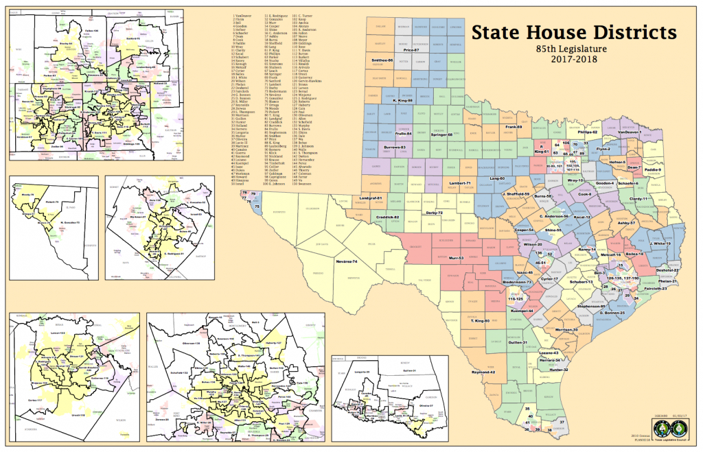 Court Says Lawmakers Deliberately Gerrymandered Texas House Maps To - Giddings Texas Map